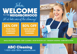 how to write a house cleaning ad 21 brilliant cleaning services maid janitorial direct mail