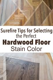 Choosing A Wood Floor Stain Color For My Kitchen Living