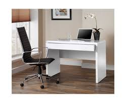 white home office desks. Best Of Computer Office Desk 4598 Luxor Gloss Workstation With Hidden Drawer White Home Decor Desks