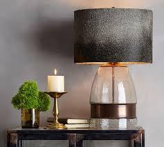 bailey lamp base pottery barn inside metal table lamps ideas 17