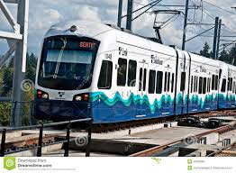 How To Pay For Link Light Rail Seattle Link Light Rail Transport 3rd Year Editorial Image