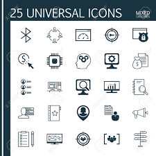 set of 25 universal icons on personal skills bluetooth symbol set of 25 universal icons on personal skills bluetooth symbol job applicants and more