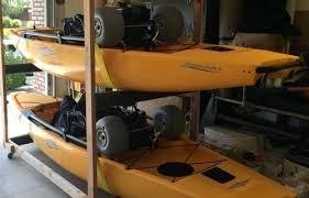 how to build a kayak storage rack rolling kayak rack build outdoor kayak storage rack build