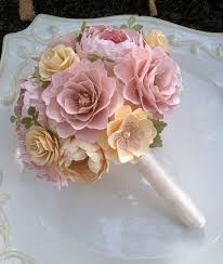 Paper Flower Bouquet For Wedding Pin On Products