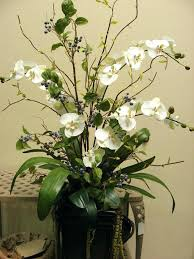 Dining Room Lovely Decorating Artificial Flower Arrangements For Artificial Flower Decoration For Home