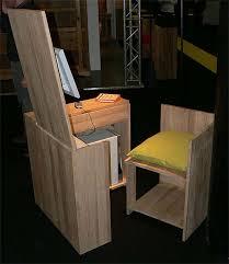 hidden office desk. Hidden Desk Chair Combination 42 Gorgeous Designs For Any Office