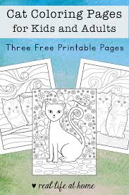 Pictures to colour and print activities worksheets clipart 2021 clipart.fargelegge tegninger,väritys sivut,farvestoffer side godt nyt. Cat Coloring Pages For Kids And Adults 3 Free Printables
