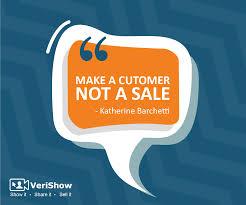 Sale Quote Make A Customer Not A Sale Katherine Barchetti Sales