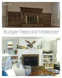 Cheap Fireplace Makeover Ideas Fireplace Makeover Fireplace Makeover Ugly Fireplace Makeover