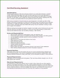 Duties And Responsibilities Of A Cna Cna Responsibilities For Resume 42 Recommendations You Need