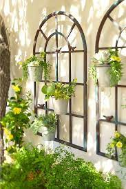 Garden, patio and veranda are important spaces to think about when going rustic. 10 Farmhouse Rustic Outdoor Garden Decor Ideas You Ll Love In 2020 Garden Wall Decor Outdoor Wall Decor Garden Wall