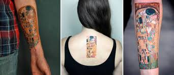 тату реплика The Art Of Masterpieces Inspired Tattoos Body
