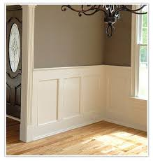 you know what always looks cly wainscoting look at any picture of a cly old house and 4 out of 5 it s gonna have it