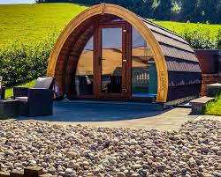 luxury camping glamping pods for