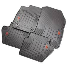 Ford EE8Z-5413300-AA Fiesta ST Floor Mat All-Weather With ST Logo ...