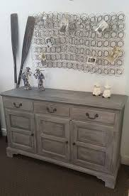 annie sloan chalk paint paris grey graphite and soft wax by junk dog