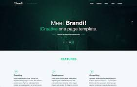 Free Psd Website Templates Awesome 28 Free OnePage PSD Web Templates In 28 Colorlib