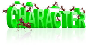 words short essay on character to character