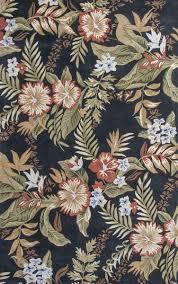 kas oriental rugs havana 2625 black wildflowers area rug