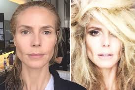 before and after makeup transformation that will you away hwt 3 heidi klum