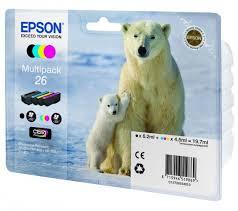 Комплект <b>картриджей Epson</b> 26 (C13T26164010) купить   Cartrige.ru