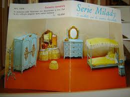 Pubblicità 1964s serie milady bedroom suite mobili per bambole