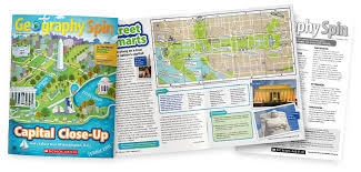 Geography Spin | Geography Magazine for Elementary Students