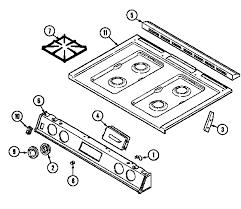 magic chef 6498vvv gas range timer stove clocks and appliance timers 6498vvv gas range top assembly 6498vvd 6498vvv parts diagram