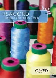 Isacord Color Chart Isacord 40wt Polyester Thread