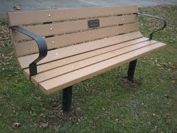 wood work park bench kit pdf plans