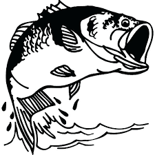 Printable Fish Coloring Pages To Print Bass Sheets Kids Colo