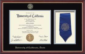 Item Davis Sash Commemorative 131888 - California In University Frame Diploma Newport Of