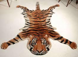 vintage tiger rug image 2
