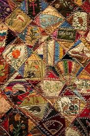 Quilting History: American 'Crazy Quilts' – 24 Blocks &  Adamdwight.com