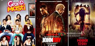 box office predictions grand masti john day horror story koimoi grand masti john day and horror story movie poster