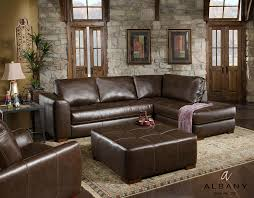 Furniture Brown Leather Living Set By Katyfurniture With Wood