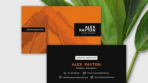 10 Free Business Cards 10 Best Free Business Cards Modern Presentation Templates