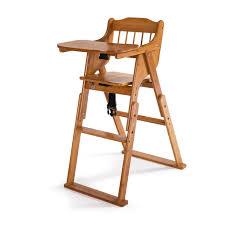 baby high chair bamboo stool infant feeding children toddler restaurant