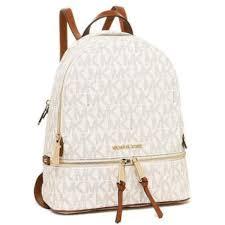 presyo ng authentic michael kors rhea monogram medium leather backpack vanilla sa pilipinas
