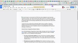 Gooogle Doc Under The Hood Google Docs Revision History Edtechteam