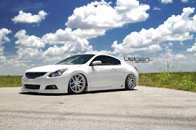 Bagged Nissan Altima Coupe on Velgen Wheels VMB5 - ClubLexus ...