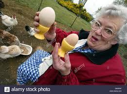 Freda Smith giant egg Stock Photo - Alamy