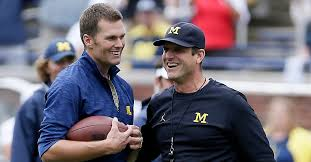 Jim Harbaugh Tom Brady Is The Greatest Football Player To Ever Play