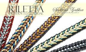 Bead Patterns Amazing Riletta Bracelet Pattern Tutorial For Crescent Beads