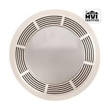 fan light combo. Broan NuTone 751 White 100 CFM Bath Fan/Light Combo With Round Grille And Glass Lens Fan Light
