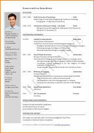 Cv Format Pdf Or Word Resume Cv Example Pdf Best 25 Job Resume