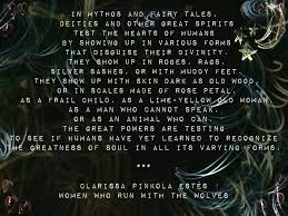 Excerpt From 'Women Who Run With The Wolves' The Power Of Words Best Women Who Run With The Wolves Quotes