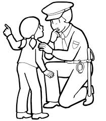 police coloring pages to print