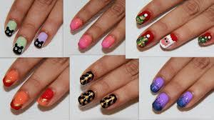 Diy Manicure Designs 6 Easy Nail Art For Beginners Diy Nail Design