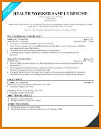 Example Of Social Work Resumes 9 10 Social Worker Resume Objective Examples